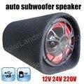Ronda de alta potencia de 5 pulgadas 12 V 24 V 220 V subwoofer coche de entrada altavoz audio del coche envío libre DEL TF USB MP3 MP4 móvil DVD