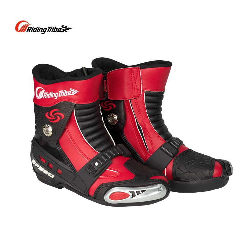 Riding Tribe Off Road Racing Boot Motorcycle Boots SPEED Waterproof Motorbike Motocross Boots Knight Shoes riding tribe motorcycle waterproof boots pu leather rain botas racing professional speed racing botte motorcross motorbike boots