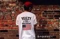 T Рубашка Мужчин 1: 1 высокое качество Yeezy Yeezy для Президент Обама Американский Флаг T-yeezy Kanye West футболка сша Тройники футболки yeezy