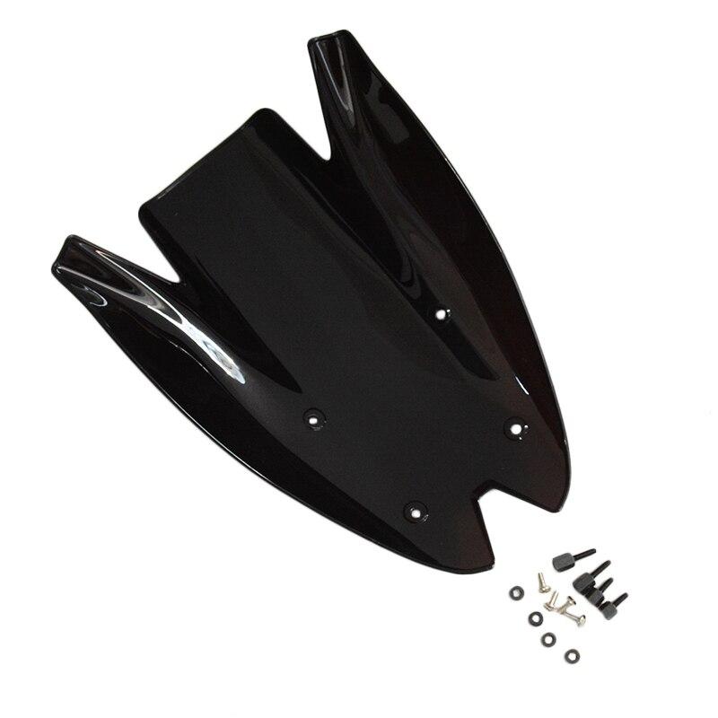 Черный дымчатое лобовое стекло для лобового стекла автомобиля козырек на лобовое стекло для Kawasaki Z1000 2010-2013 11 12 черный