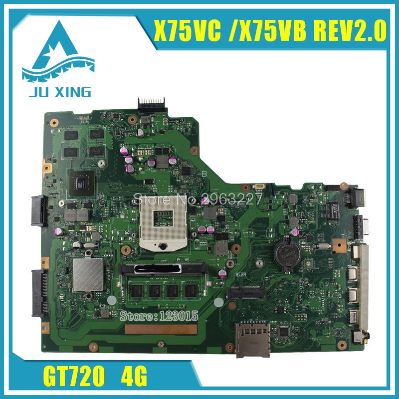 X75VC for ASUS motherboard X75VB REV2.0 Mainboard Graphic GT720 4G Memory fully tested