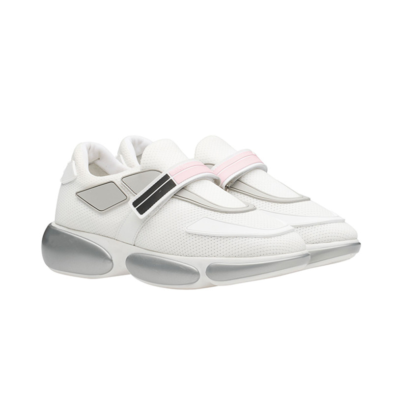 Spring and autumn new kind of joker sports shoes leather women's casual shoes tennis shoes women's white round head flat shoes t