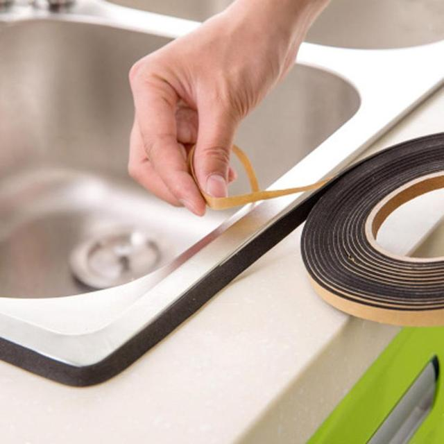 Kitchen Tape Corner Stickers Self Sealing Adhesive Tape Dust And Waterproof Sealing Strip Home Kitchen Bathroom Waterproof tape