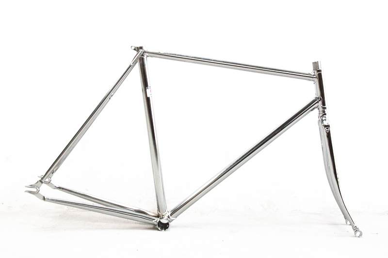 fixed gear framefork columbus cromor chromoly lug vintage pursuit track bike frameset velo pursuit