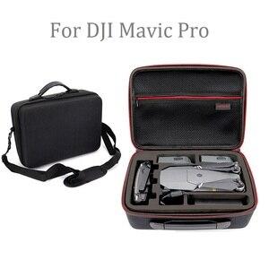 Image 2 - Mavic 프로 hardshell 어깨 방수 가방 케이스 dji mavic 프로 platinum 넘에 대 한 휴대용 스토리지 박스 셸 핸드백