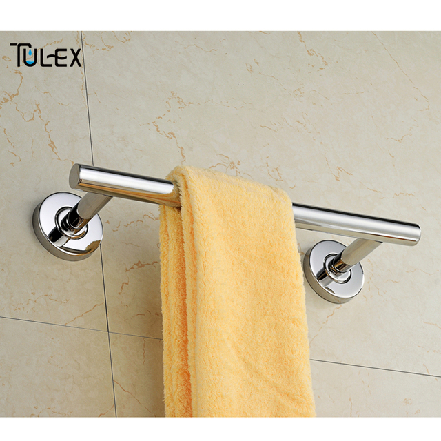TULEX Towel Holder Bathroom Accessories Towel Bar Towel Rack Towel Hanger  In Stainless Steel 30CM 60CM