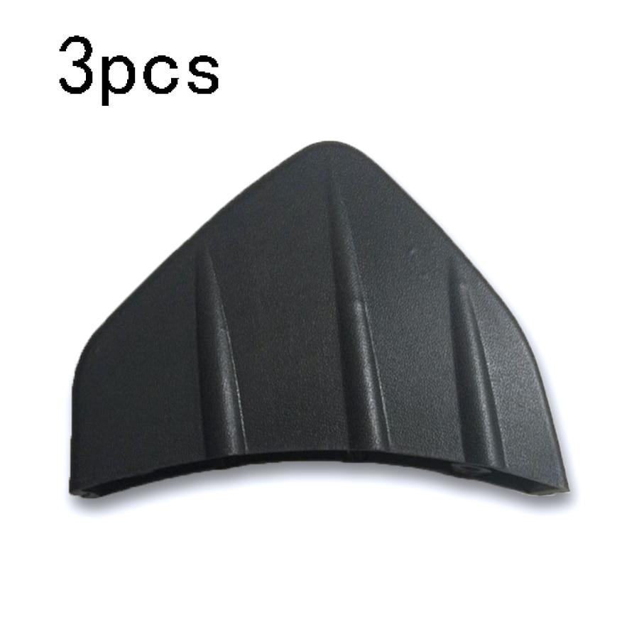 Bumper Diffuser Molding Point Garnish Air Spoiler Cover Black Red 16P for Sedan