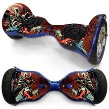 10 «Электрический стикер для скутера Hoverboards два колеса Hover доска наклейка скейтборд Oxboard Кожа Наклейка электрическая доска наклейка