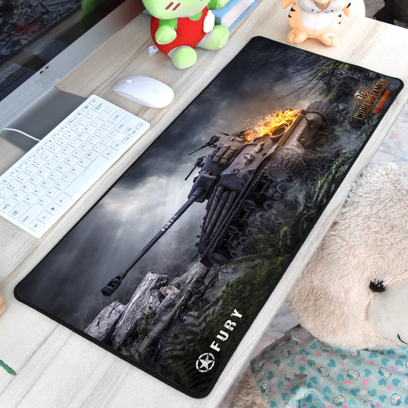 30*60cm Large Game Mouse Pad Mat Gaming Mousepad Anti-slip Rubber World Of Tank Gaming Mouse Pad Desk Computer Pad