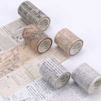 Del Nastro di Washi Vintage Da Vinci Manoscritto Nastri di Mascheratura Mappa Del Mondo Washi Nastro Adesivo Fai Da Te Scrapbooking Adesivo di Cancelleria