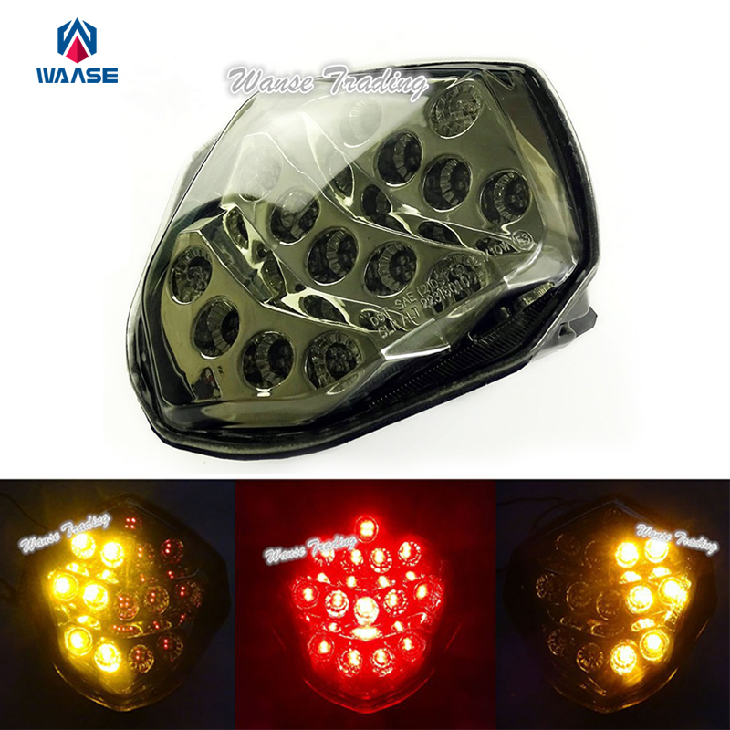 Tail Brake Turn Signals Integrated Light Clear For 2003-2004 Suzuki GSXR 1000 K3