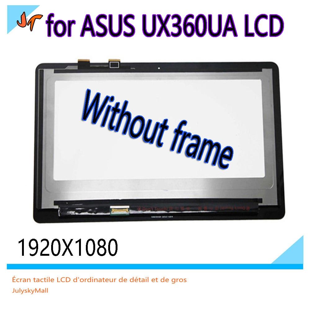 For ASUS ZenBook Flip UX360UA 13 3 inch LCD display ux360u LCD touch screen 1920x1080 B133HAN02