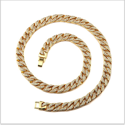 Mens Thick Cuban Link Chain...