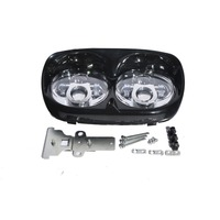7 LED Headlight Mounting Ring Bracket Fit for Harley Touring Electra Street Glide 1994 2013 2012 11