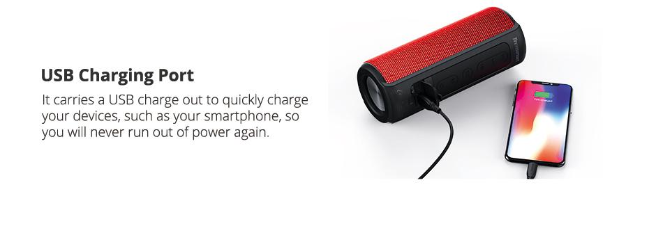 Tronsmart T6 Plus Altavoz Bluetooth portátil 40W 8