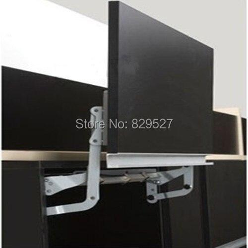 Soft open lift up mechanism support system for cabinet cupboard closet door hinge damper microwave front