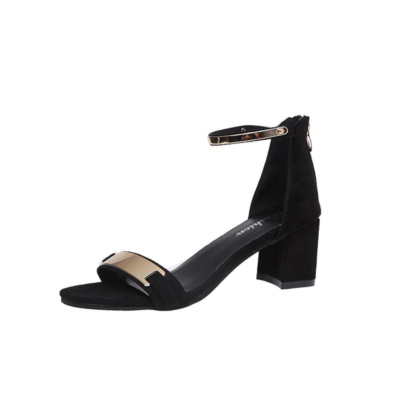 rojo gris Sandalias Boda Señoras Gladiador Moda Glitter Mujeres Negro Alto Tacón 2018 Verano Las Partido De Zapatos ZtAaqa