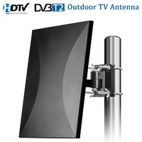 Satxtrem Outdoor TV Antenna 160 Miles Range HDTV Digital Indoor TV Antenna Cable For DVB T2 32.8ft Coax Amplifier Signal Booster