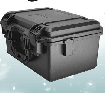IP67 hard plastic Instrument case thickened portable plastic case tool box