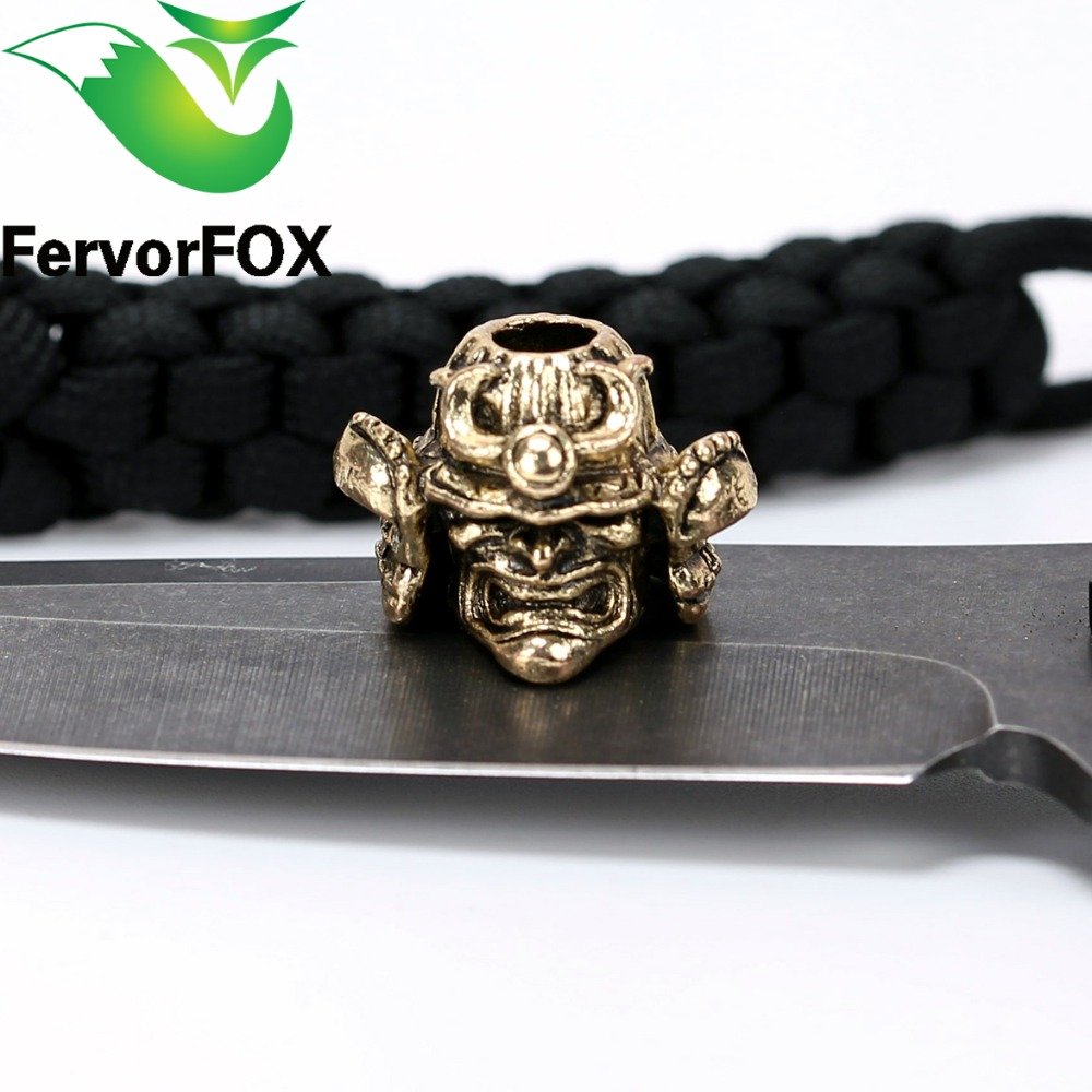 New Style Paracord Beads Charms Metal For Paracord Accessories byzylyk Survival, DIY varëse varëse për Parakord Thika Lanyard