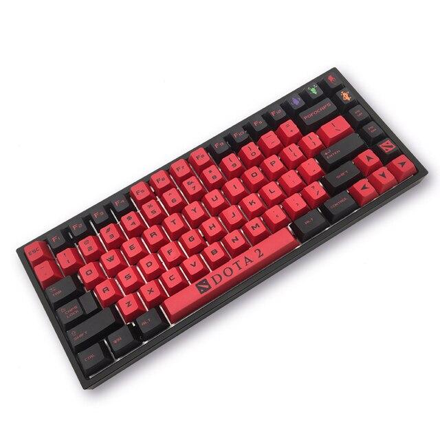 MP Dota2 keycaps PBT Sublimação Keycap Altura Original de Fábrica Teclado Mecânico conjunto Completo Personalizado Personalizado