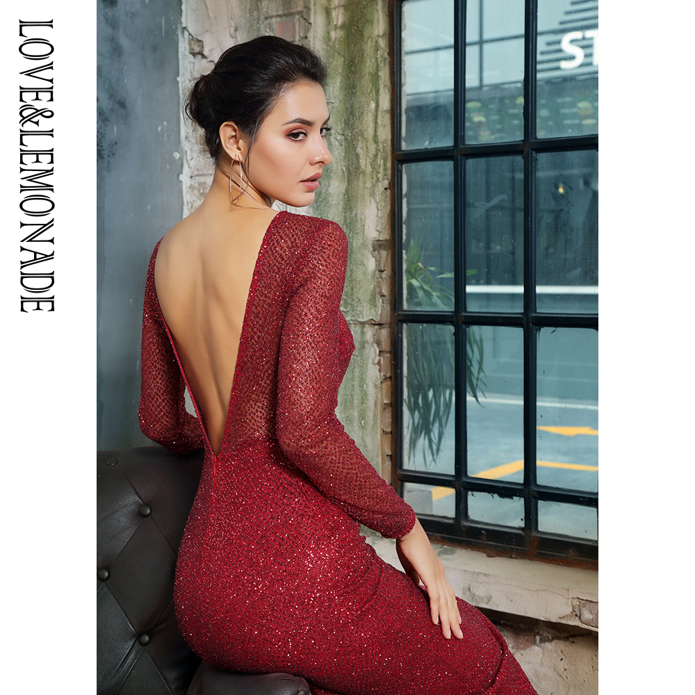 LM81350RED LOVE&LEMONADE שמלת IOW 8