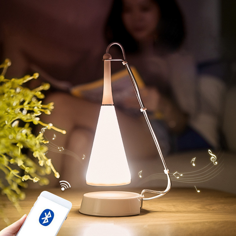 Creative Bluetooth Music Table Lamp Touch Sensor LED Night Lights For Bedroom Home Decoration