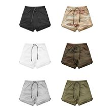 New Men's Running Shorts Mens 2 in 1 Sports Male Double-deck Quick Drying Jogging Gym конструктор cute sunlight 14 in 1 14 in 1 new