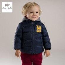 DB2949 дэйв белла зима мальчик вниз перо пальто мальчики белая утка вниз верхняя одежда мальчики вмс пальто мальчики мода куртки