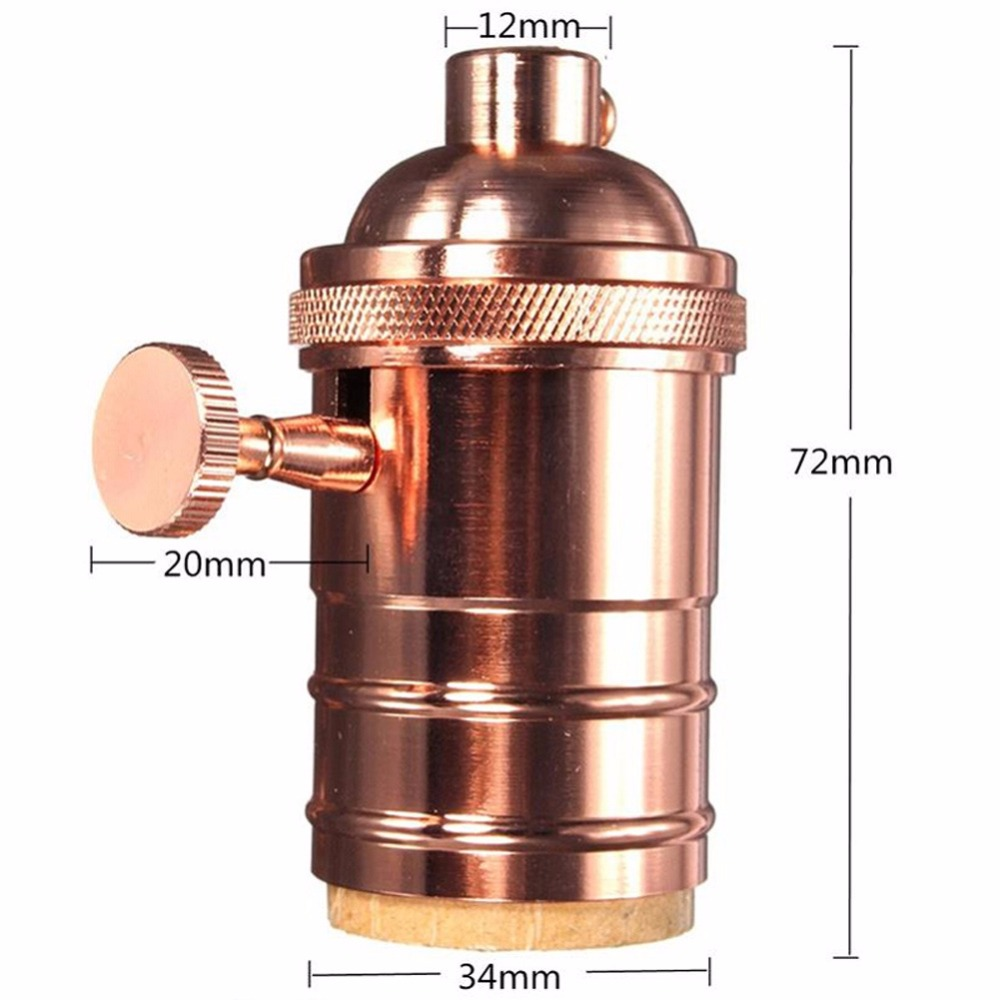 Aliexpress.com : Vintage Edison Lampenfassung E27 Schraube ... | {Armaturen industrie 53}