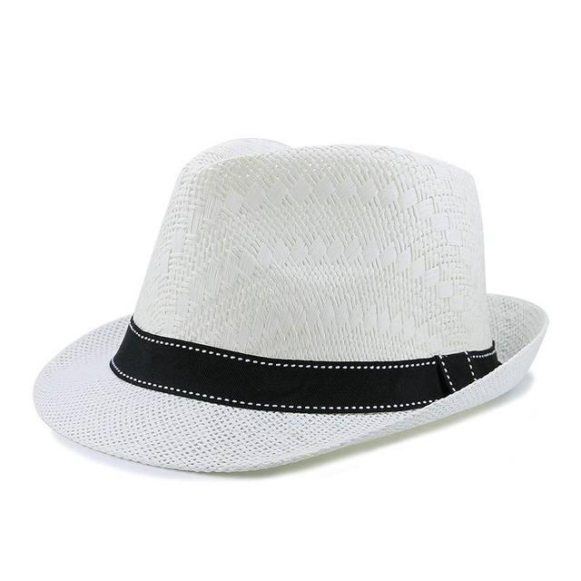 Spiaggia grande sole tesa del cappello outdoor cappello di paglia delle  donne casual maschile protezione di fd4db73e4345