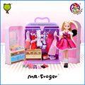 Mr.Froger Dream Closet Fashion Doll Girl wardrobe cute villain Every family star product lifestyle chibi Classic Toys Children