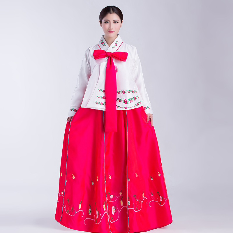 New Arrive Women Hanbok Female Korean Traditional Costume Korea Dress Asian Clothing For Stage Performance 18 In Asia Pacific Islands