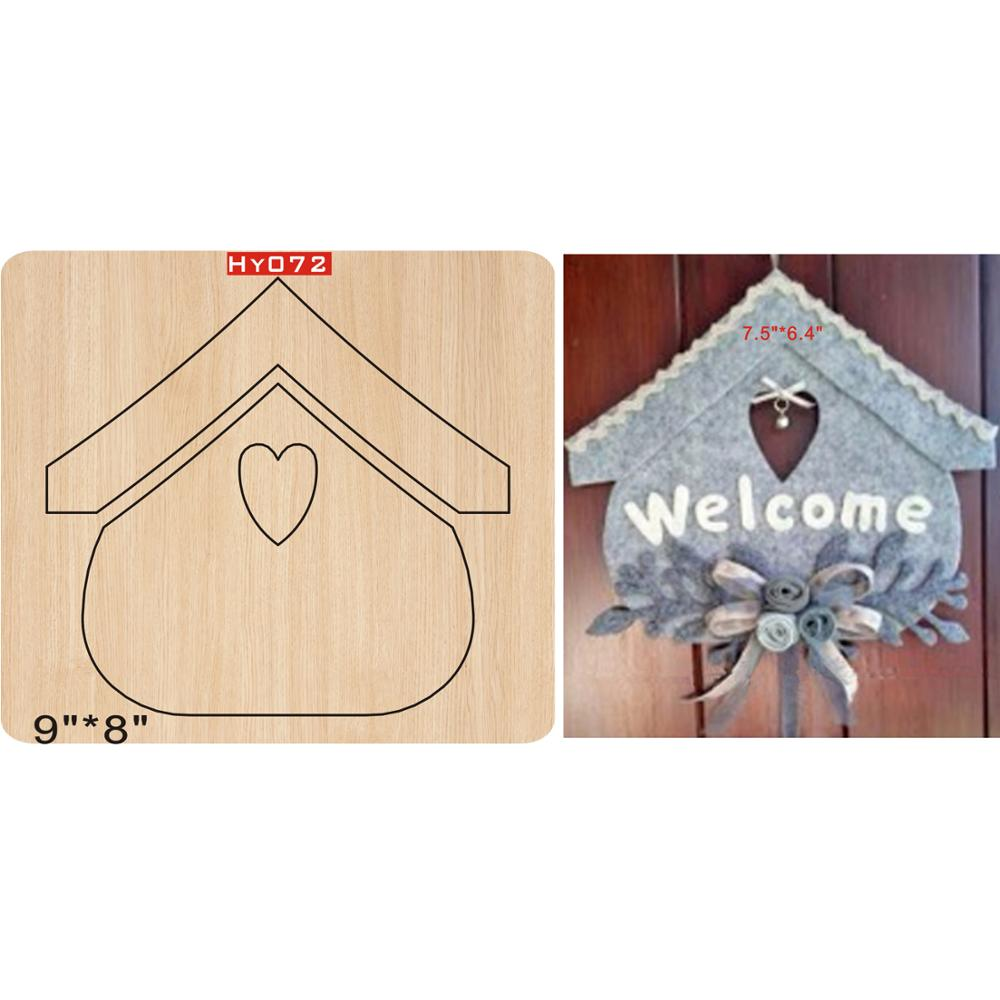 Big house cutting dies 2019 new die cut wooden dies Suitable for common die cutting machines on the market in Cutting Dies from Home Garden