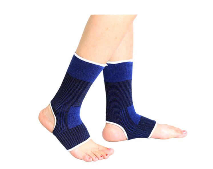 Outdoor Sports Protective Pad Ankle Support Blue Ankle Protective Brace Elastic Gym font b Roller b