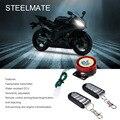 Steelmate 886 T 1 Way Sistema de Alarme Da Motocicleta Controle Remoto Do Motor Parar Anti-hijack com Mini Transmissor Protetor Da Motocicleta