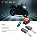 Steelmate 886T 1 Way Motorcycle Alarm System Remote Control Engine Stop Anti-hijack with Mini Transmitter Motorcycle Protector