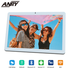 ANRY 10.1 Inch 1280*800 4G Tablet PC MTK6737 Quad Core Android 7.1 OS 4GB RAM 64GB ROM GPS LTE Tablet Built in 4G Phone bben windows10 mini pc z8350 quad core cpu built in cool fan 2gb 4gb ram 32gb 64gb rom android mini computer intel compute stick