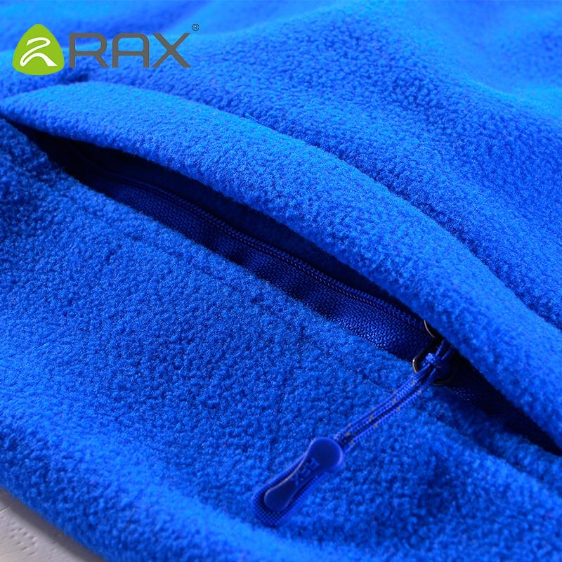 Rax Mens Fleece Jacket Brand Winter Male Outdoor Polartec Fleece Jacket Women Mountaineering Hiking Camping Hooded Jacket Men