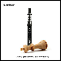 A Touch Original Justfog Q16 Kit Comes 1 9ml Q16 Clearomizer 900mAh J Easy 9 VV