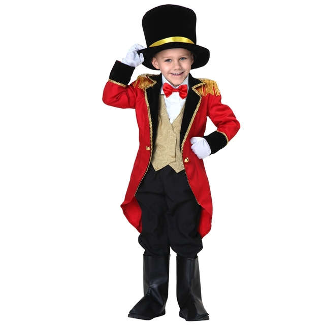 Amazing Toddler Ultimate Ringmaster Fantastic Halloween Costume  sc 1 st  AliExpress.com & Amazing Toddler Ultimate Ringmaster Fantastic Halloween Costume-in ...