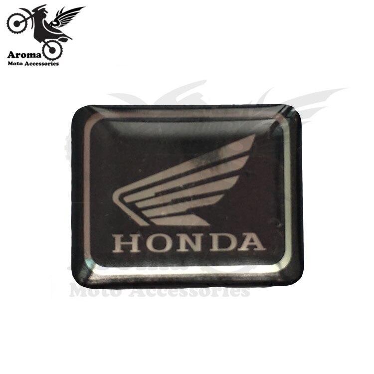 2 pcs motorbike sticker for honda logo 3d wing badge. Black Bedroom Furniture Sets. Home Design Ideas