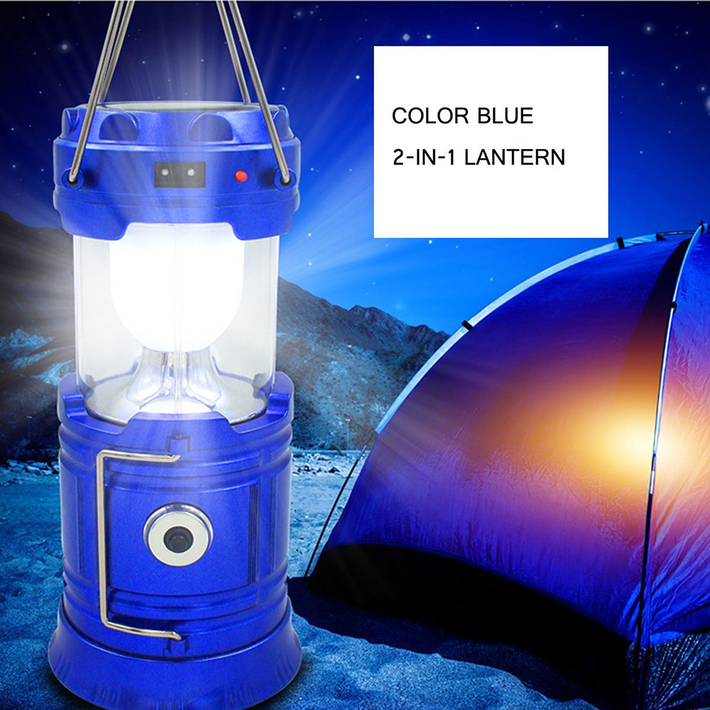 ZK20 Portable Solar Charger Camping Lantern Lamp LED Outdoor Lighting Folding Camp Tent Lamp USB Rechargeable lantern