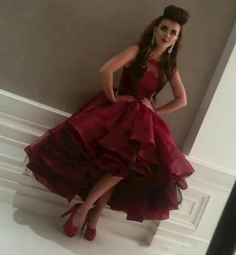 Popular High Low Red Gown-Buy Cheap High Low Red Gown lots from ...