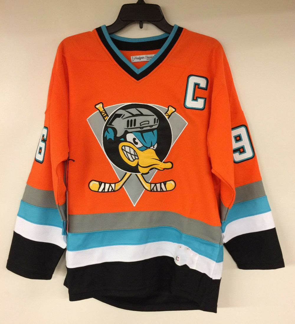Charlie Conway Mighty Ducks  96 Movie Hockey Jersey Embroidery Stitched  Customize any number and nameHockey 308494e70