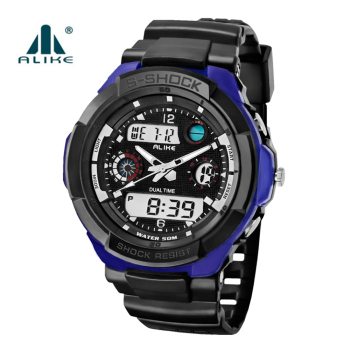 2019 New Shock Military Men Watches Luxury Brand Sport LED Digital Watch 5ATM Waterproof Outdoor Men Wristwatches Sports Watches 1