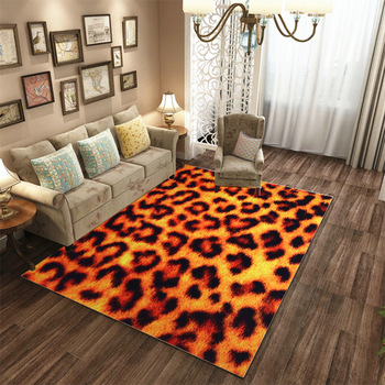 Modern minimalist living room geometric patterns carpets soft anti-slip bedside blanket rugs high quality polyester floor mat