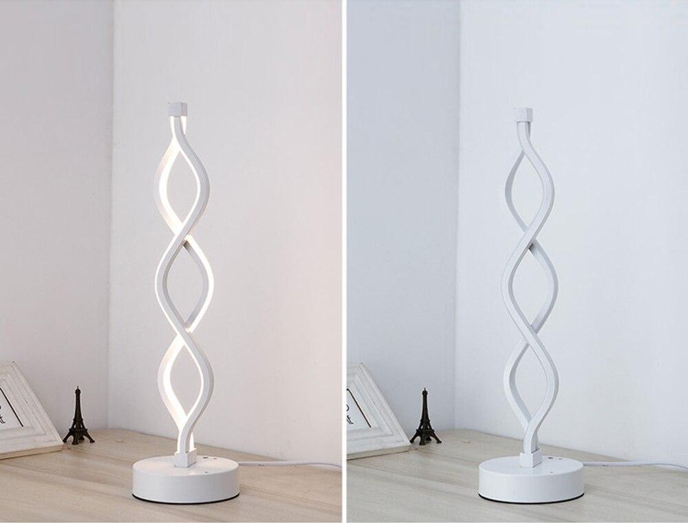 Moderno 18 w led candeeiro de mesa
