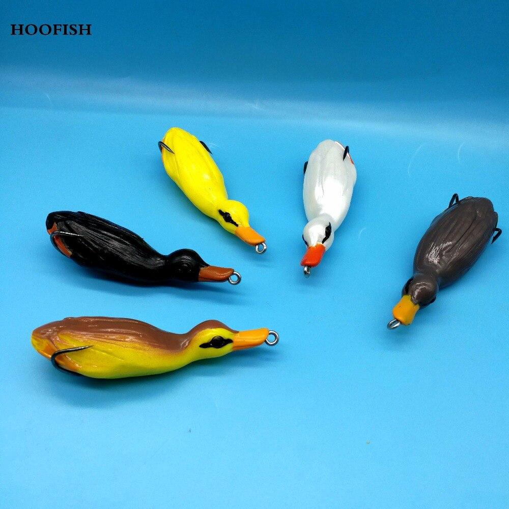 hoofish-5pcs-lot-snakehead-pike-font-b-fishing-b-font-lure-artificial-bait-215g-95cm-5colors-lifelike-3d-ducks-soft-pla-stic