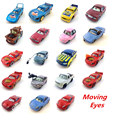 Pixar Cars Moving eyes car Diecast Metal Toy Car 1:55 Loose Brand New In Stock & Free Shipping